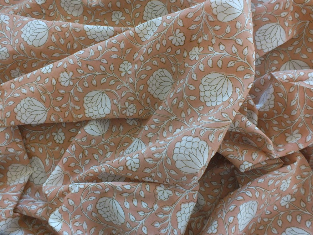 Image of Namasté fabric lotus