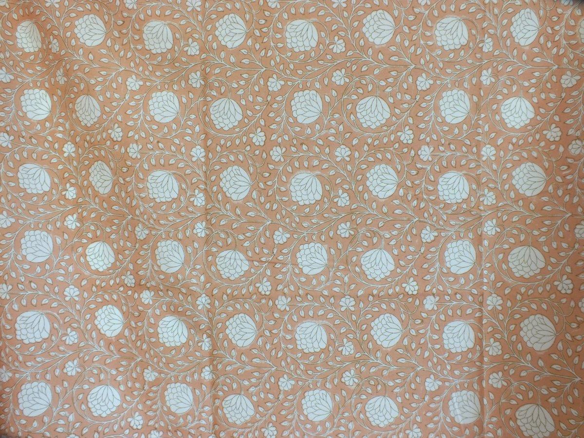 Image of Namasté fabric lotus