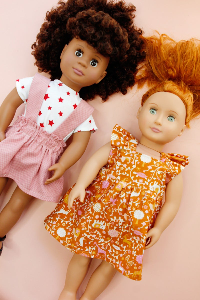 "Image of 18"" Doll Summer Collection"