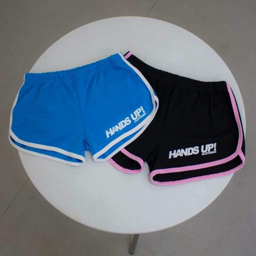 Image of Hotpants BLACK/ BABY PINK