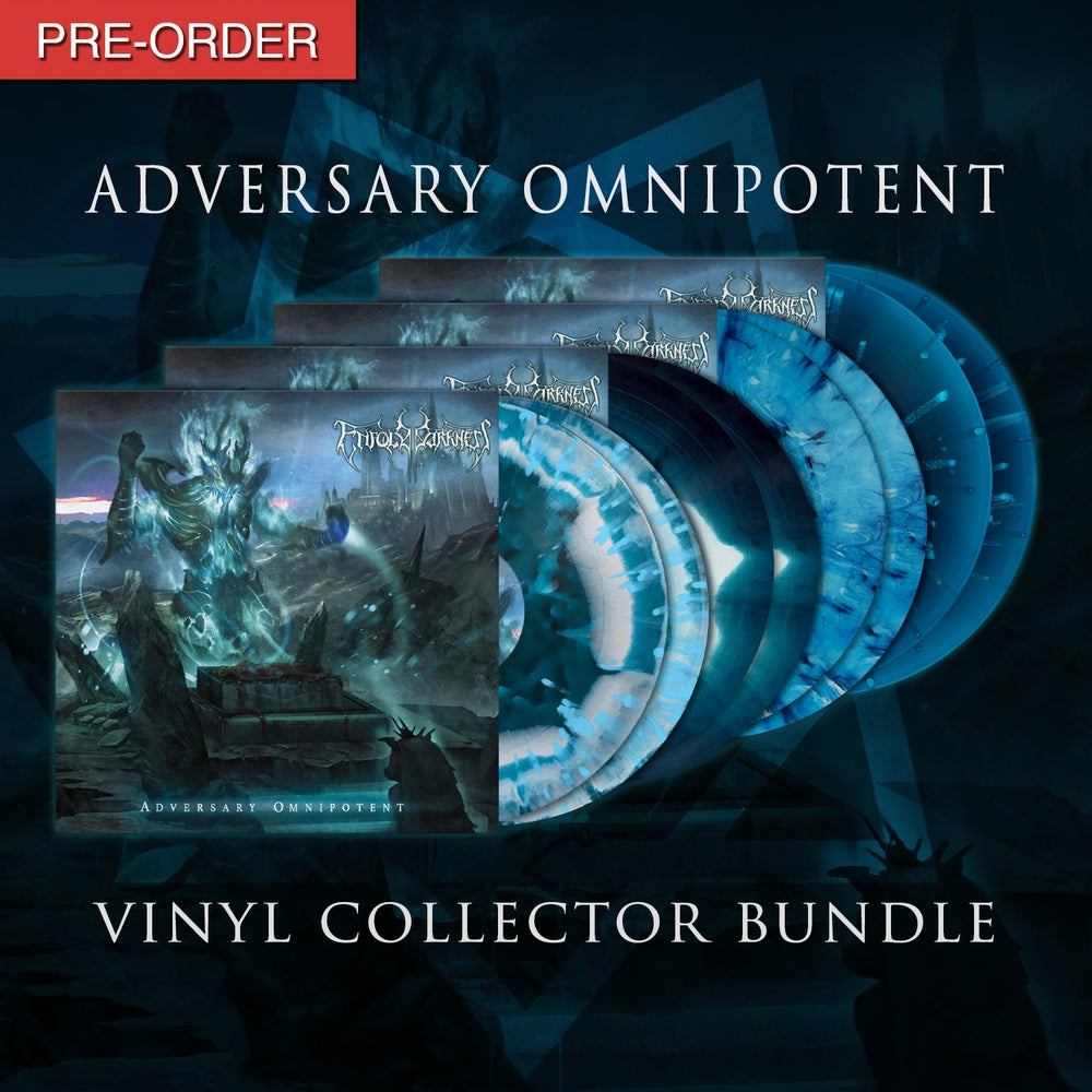 Image of ENFOLD DARKNESS - Adversary Omnipotent | Vinyl Collector Bundle
