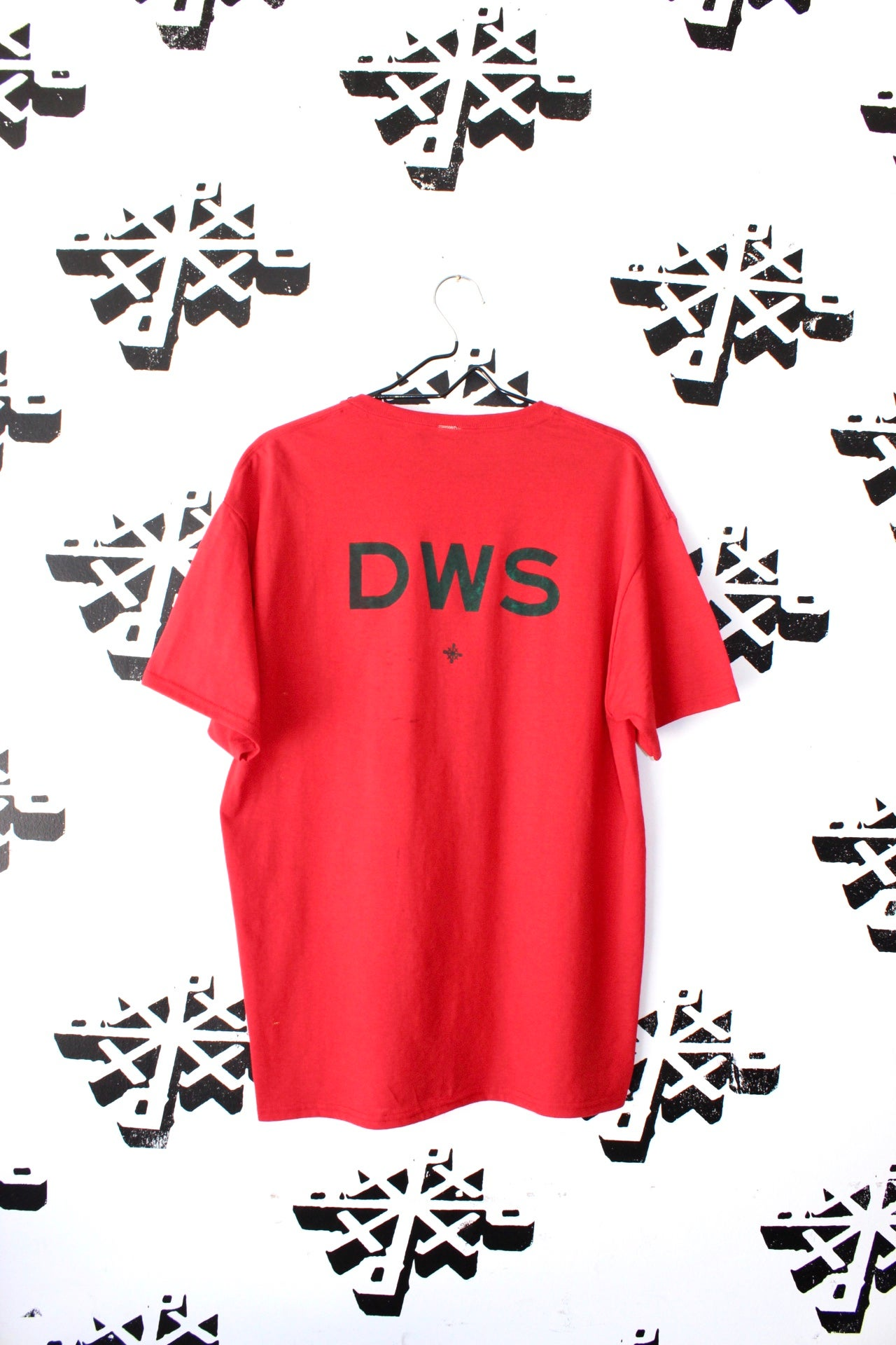 Image of DWS tee in red