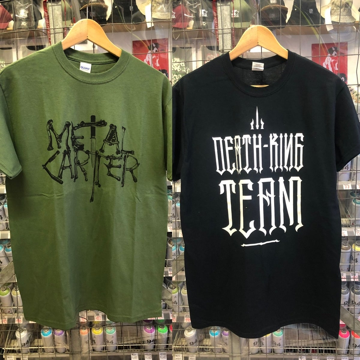 Image of tshirt METAL CARTER