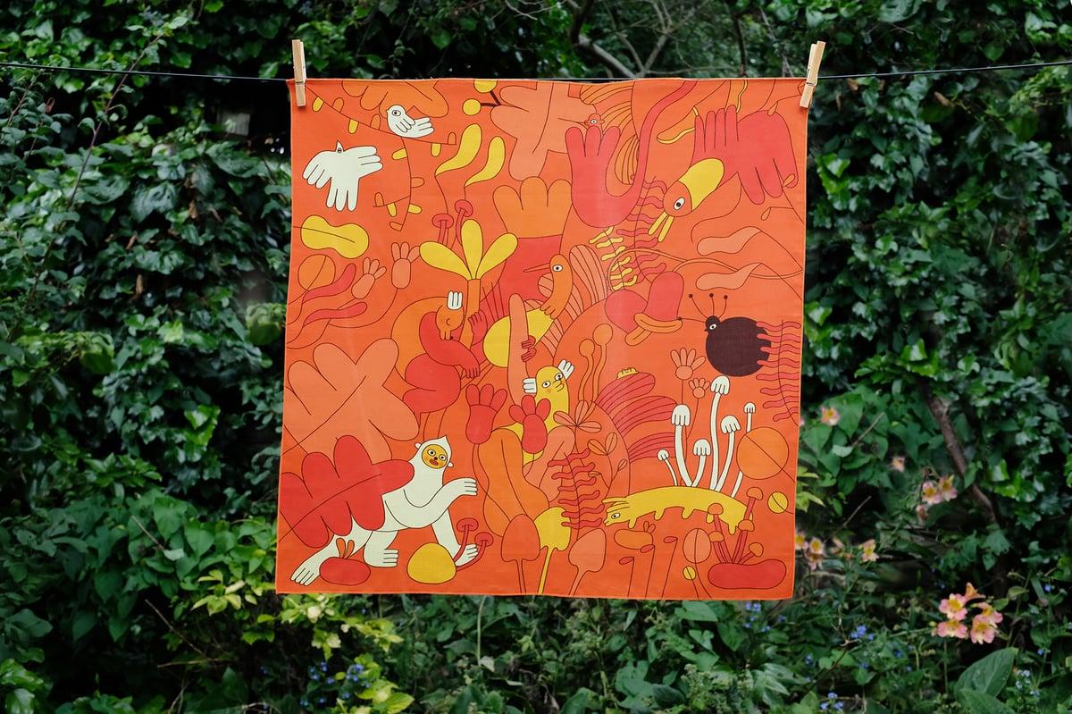 Image of Jungle Bandana Scarf