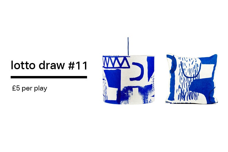 Image of Lotto Draw #11 - Assemble/ Configure Cushion + Lampshade