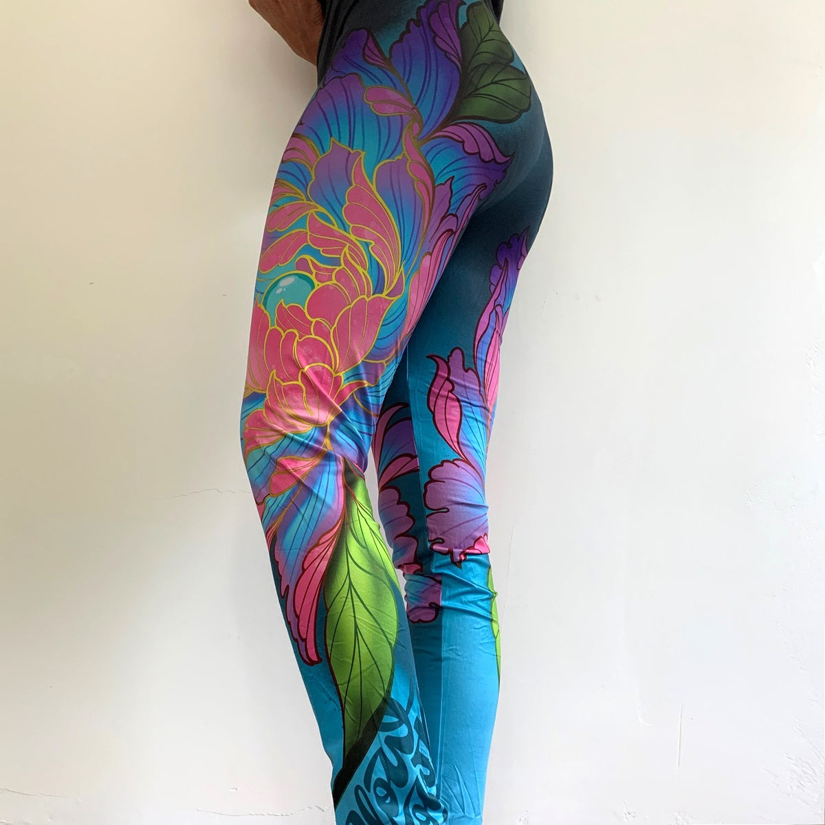 Image of  Slowdown Flower Leggings