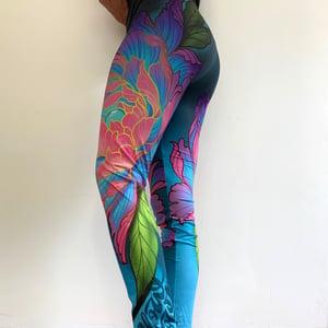Image of  Slowdown Flower Leggings