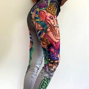 Image of Slowdown Ganesh Leggings