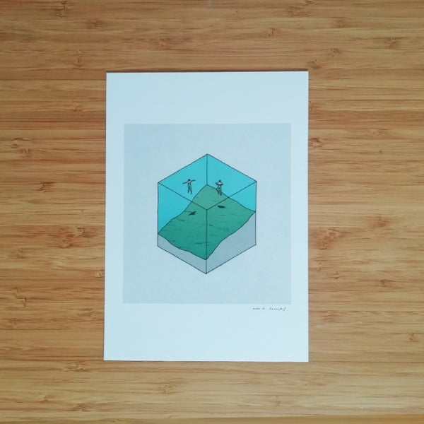 Image of Swimmers - SIGNED PRINT