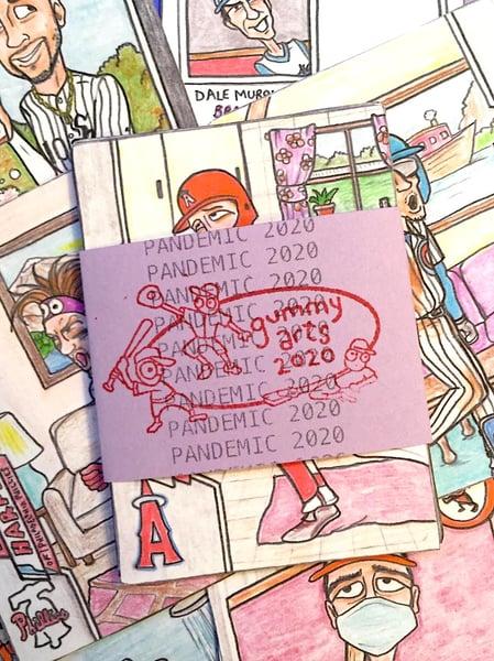 Image of Pandemic 2020 Baseball Cards (nine-card set)—MORE COMING SOON!