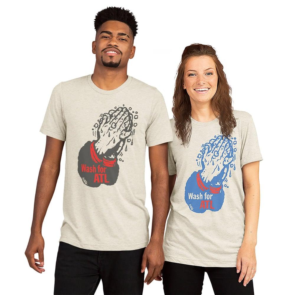 Image of Unisex Wash for ATL t-shirt multi