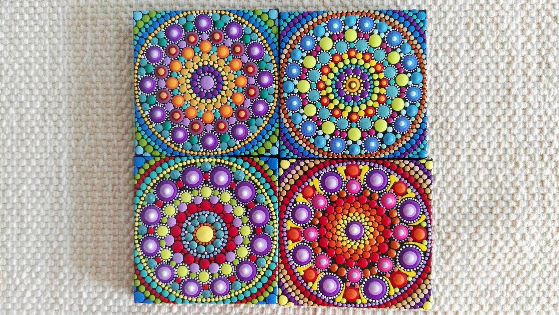 Image of Mandala Mini Canvas 2020A by Alberto Martin