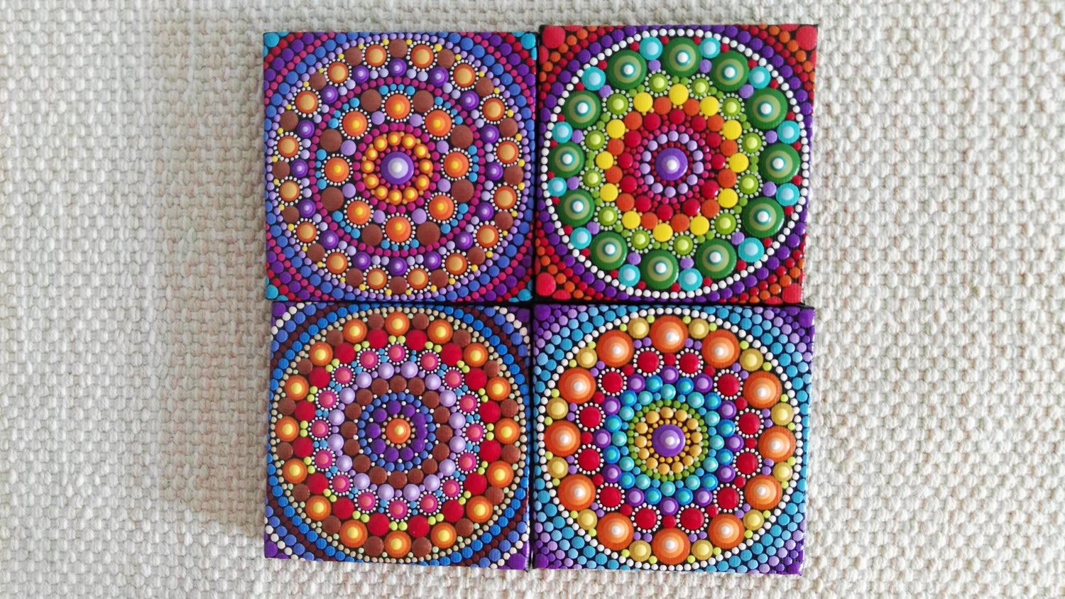 Image of Mandala Mini Canvas 2020B by Alberto Martin