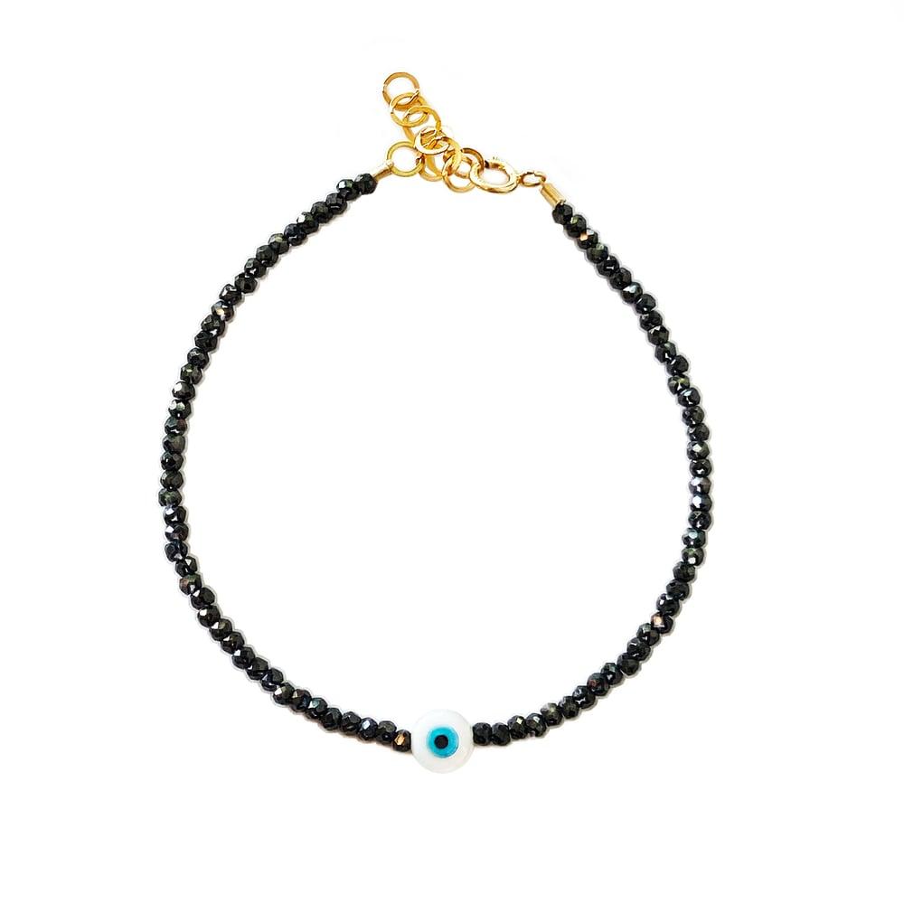 Image of Eye Bracelet Full Beaded