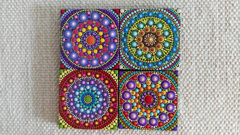 Image of Mandala Mini Canvas 2020C by Alberto Martin