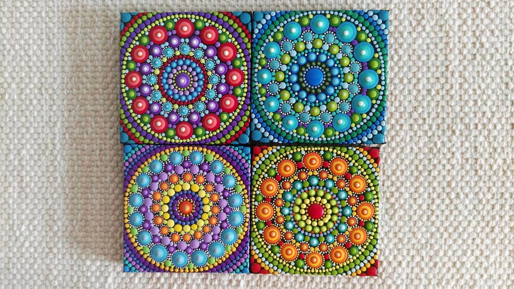 Image of Mandala Mini Canvas 2020D by Alberto Martin