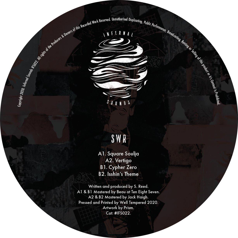 Image of IFS022: SWR - Square Soulja EP