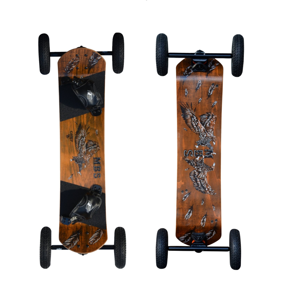 Image of MBS Comp 95 Mountainboard - Birds