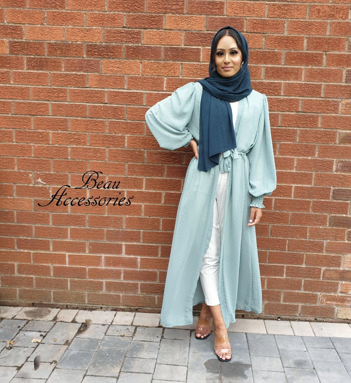 Image of Chiffon Bell Sleeve Kimono (all colours)