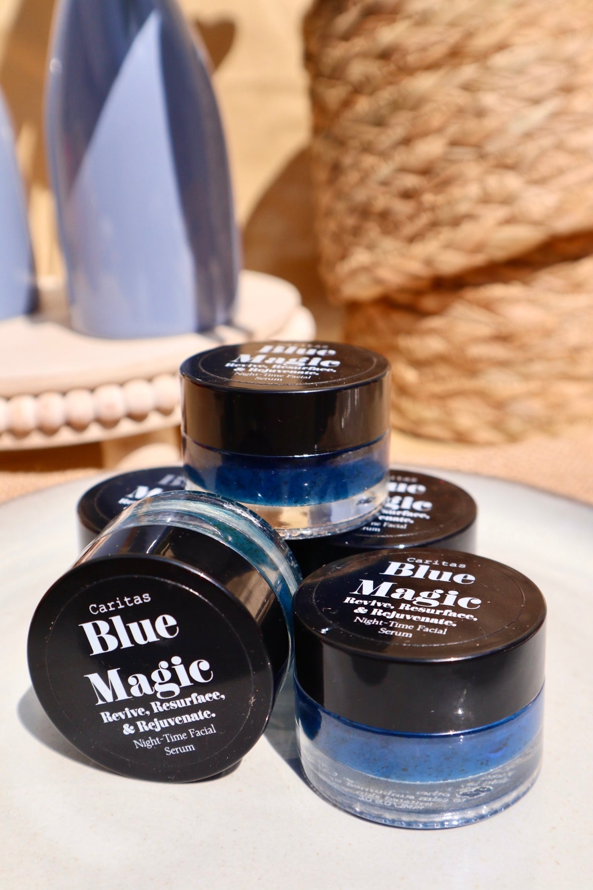 Image of Blue Magic (Night Time Resurfacing Facial Serum)