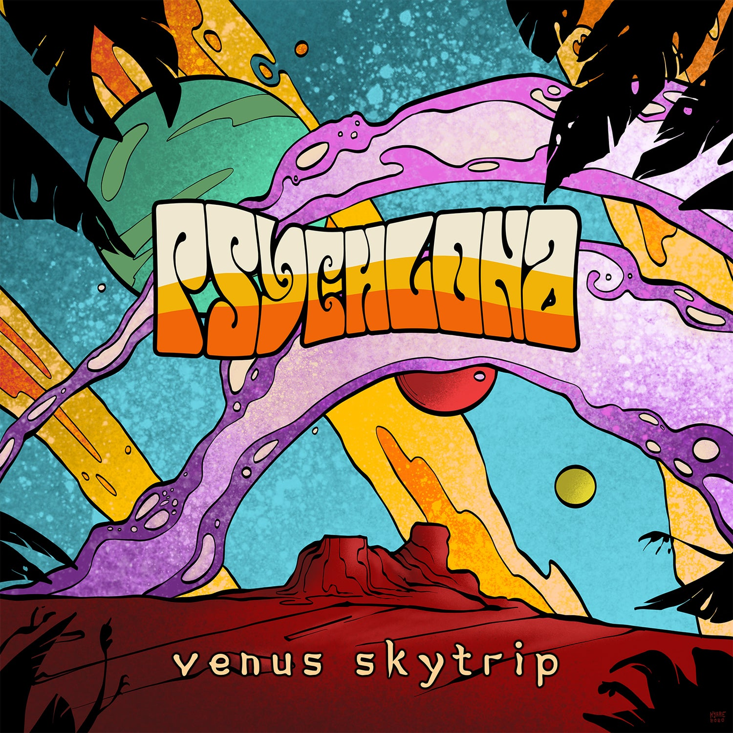 Image of Psychlona - Venus Skytrip Limited Digipak CD