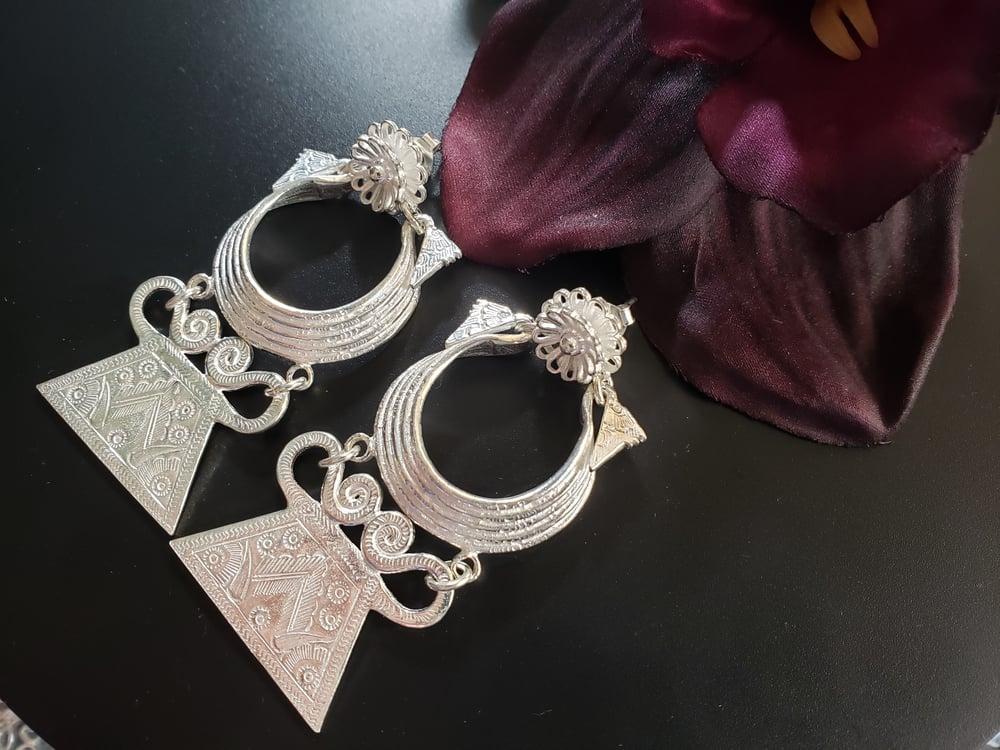 5 Layer Xauv Earrings