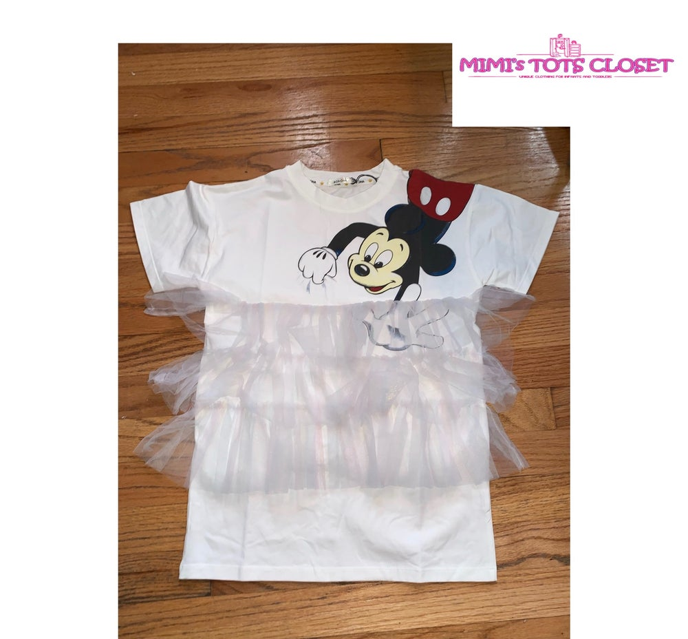 Image of Mickey T-Shirt Dress