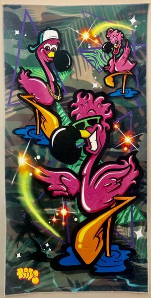 Image of Flamingo Towel III