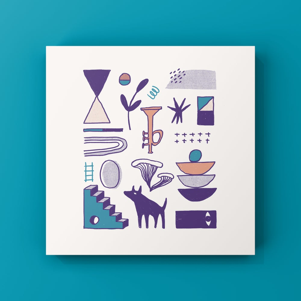 Image of Indigo Day Print
