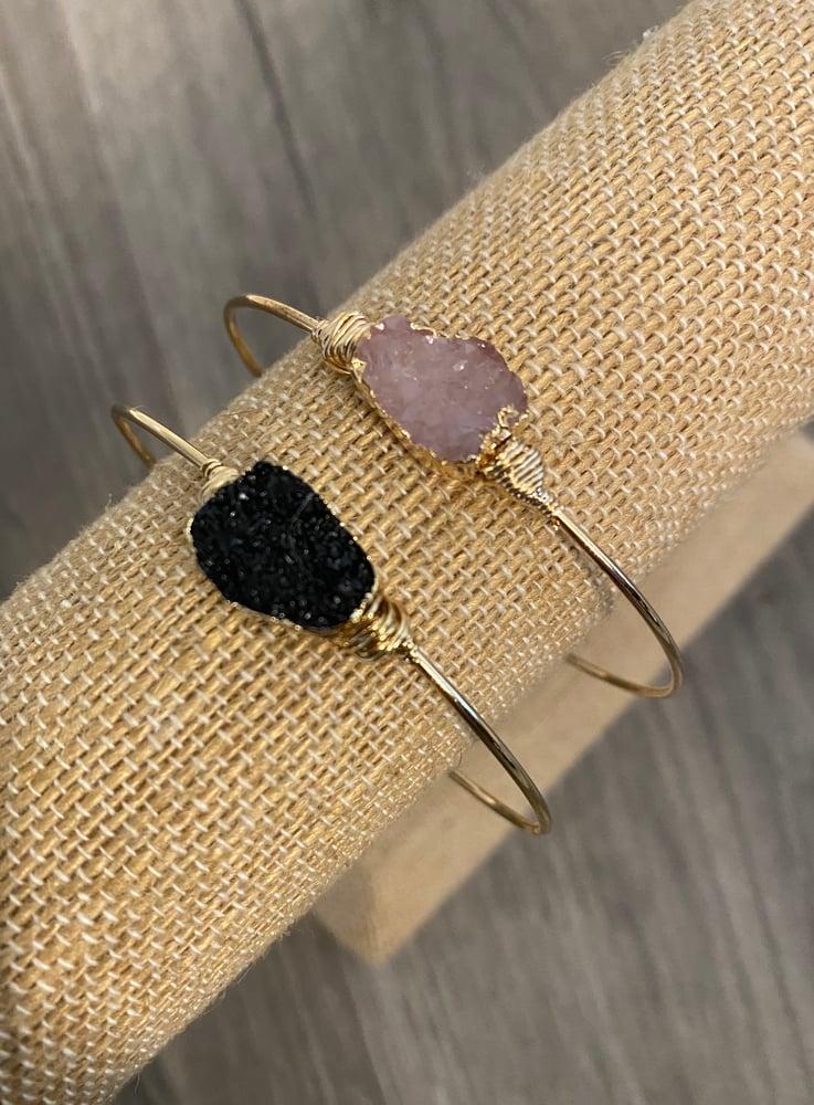 Image of Druzy bracelet