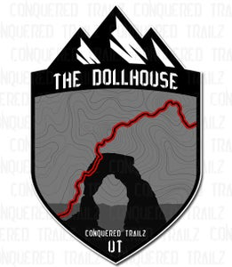 "Image of ""The Dollhouse"" Trail Badge"