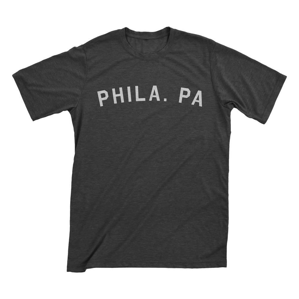 Image of Phila PA Graphite T-Shirt