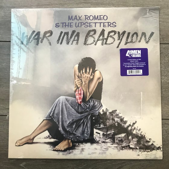 Image of Max Romeo And The Upsetters - War Ina Babylon Vinyl LP