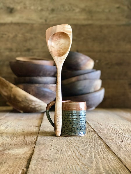 Image of Roux spoon  Left or right handed  14""