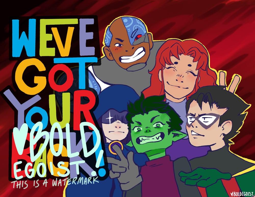 Teen Titans Print!