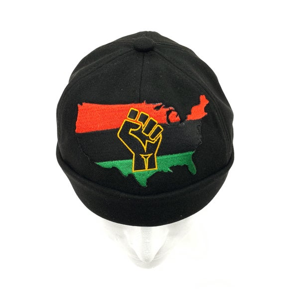 Image of Black RBG Aboriginal beanie
