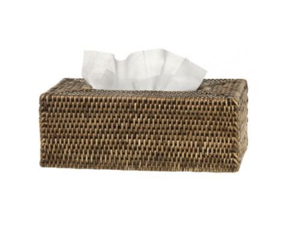 Image of Rattan Tissue Box Cover