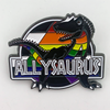Allysaurus (Rainbow) Pride Pin