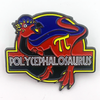 Polycephalosaurus Enamel Pin