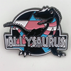 Allysaurus (Trans) Enamel Pin