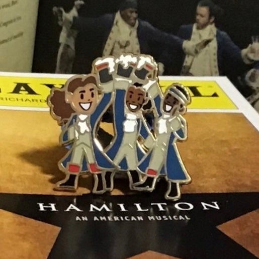 "Image of ""The Whole Gang"" Pin"