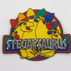 Stegaysaurus Embroidered Patch