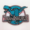 Tranosaurus Embroidered Patch