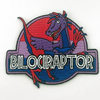 Bilociraptor Embroidered Patch