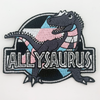 Allysaurus (Trans) Embroidered Patch