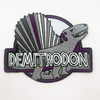 Demitrodon Embroidered Patch