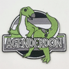 Agenderdon Embroidered Patch