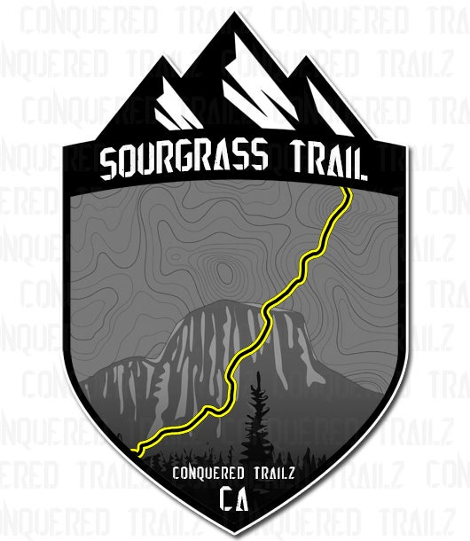 """Image of """"Sourgrass"""" Trail Badge"""