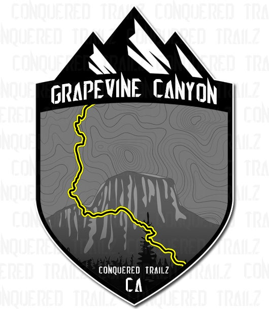 "Image of ""Grapevine Canyon"" Trail Badge"