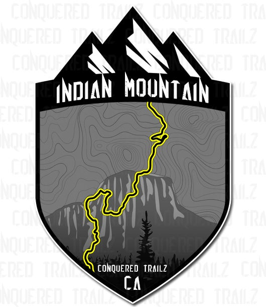 "Image of ""Indian Mountain"" Trail Badge"